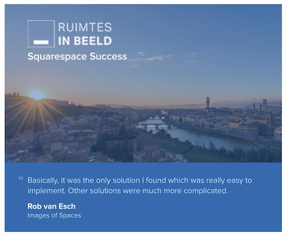Featured Customer: Ruimtes in Beeld 1