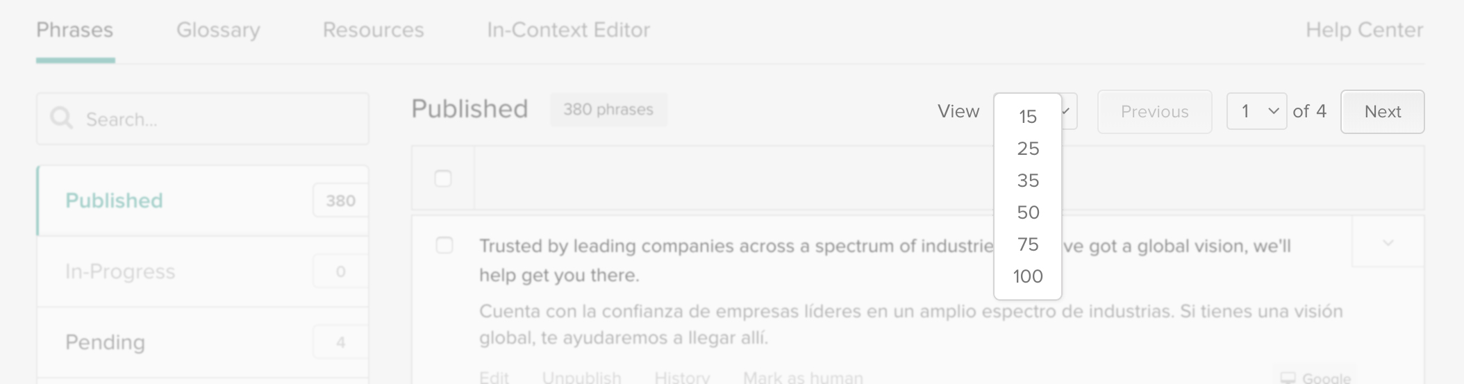 Localize - Application translation platform